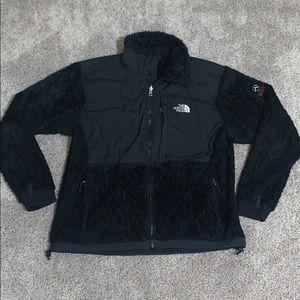 The Northface Black Furry Jacket